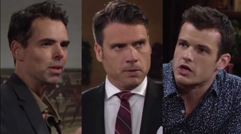 Young and the Restless Spoilers: Billy Abbott (Jason Thompson) - Nick Newman (Joshua Morrow) - Kyle Abbott (Michael Mealor)