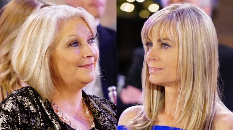 young and the restless spoilers: traci abbott (beth maitland) - ashley abbott (eileen davidson)