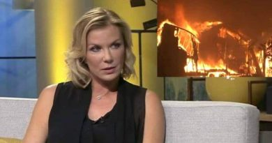 Bold and the Beautiful: Katherine Kelly Lang (Brooke Logan) - Fire