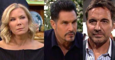 Bold and the Beautiful Spoilers: Brooke Logan (Katherine Kelly Lang)- Bill Spencer (Don Diamont) - Ridge Forrester (Thorsten Kaye)