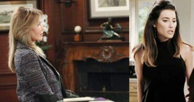Bold and the Beautiful Spoilers: Steffy Forrester-(Jacqueline MacInnes Wood)-Taylor Hayes-(Hunter Tylo)