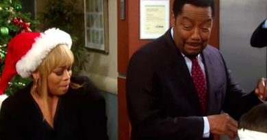 Days of Our Lives Spoilers: Sheila Watkins (Tionne TBoz Watkins) - Abe Carver (James Reynolds)