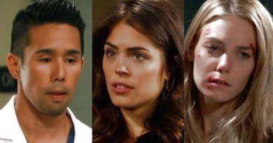 General Hospital Spoilers: Brad Cooper (Parry Shen) - Britt Westbourne (Kelly Thiebaud) - Nelle Hayes (Chloe Lanier)
