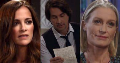 General Hospital Spoilers: Hayden Barnes (Rebecca Budig) - Hamilton Finn (Michael Easton) - Cassandra Pierce (Jessica Tuck)