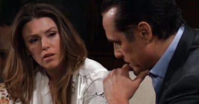 General Hospital Spoilers: Margaux Dawson (Elizabeth Hendrickson) - Sonny Corinthos (Maurice Benard)