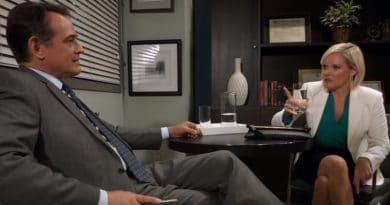 General Hospital Spoilers: Ryan Chamberlain (Jon Lindstrom) - Ava Jerome (Maura West)