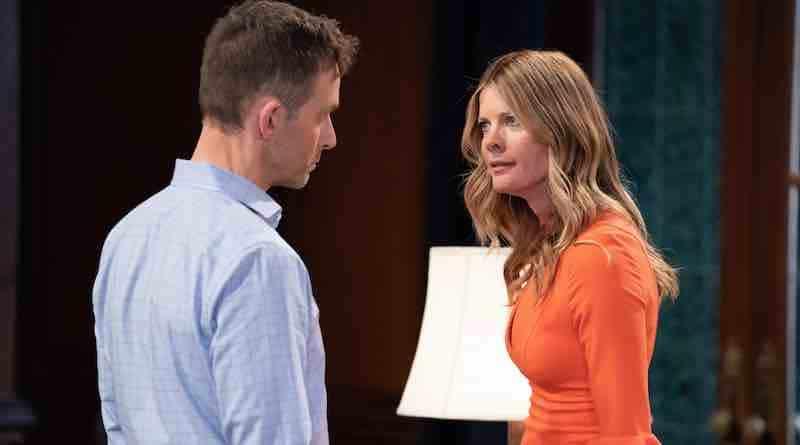 General Hospital Spoilers: Valentin Cassadine (James Patrick Stuart) - Nina Reeves (Michelle Stafford)