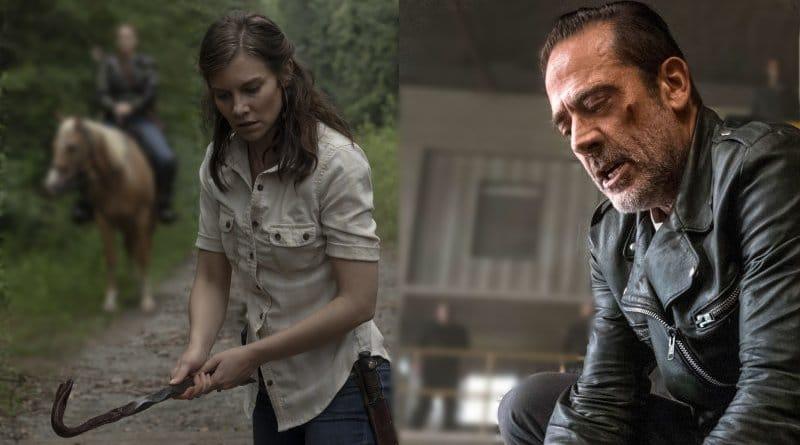 The Walking Dead Spoilers: Maggie Rhee (Lauren Cohan) - Negan (Jeffrey Dean Morgan)