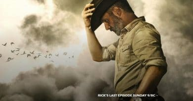 The Walking Dead Spoilers -Rick Grimes (Andrew Lincoln)