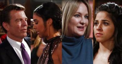 The Young and the Restless Spoilers: Jack Abbott (Peter Bergman) - Kerry Jones (Alice Hunter) - Sharon Newman (Sharon Case) - Mia Rosales (Noemi Gonzalez)