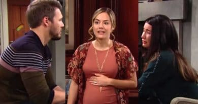 Bold and the Beautiful Spoilers: Liam Spencer (Scott Clifton) - Hope Logan (Annika Noelle) -Steffy Forrester (Jacqueline MacInnes Wood)