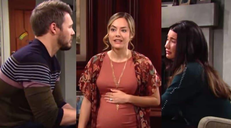 Bold and the Beautiful Spoilers: Liam Spencer (Scott Clifton) - Hope Logan (Annika Noelle) -Steffy Forrester (Jacqueline MacInnes Wood)