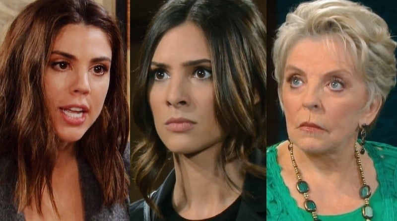 Days of Our Lives Spoilers: Abigail Deveraux (Kate Mansi) - Gabi Hernandez (Camila Banus) - Julie Olson Williams (Susan Seaforth Hayes)