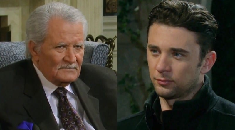 Days of Our Lives Spoilers: Victor Kiriakis (John Aniston) - Chad DiMera (Billy Flynn)