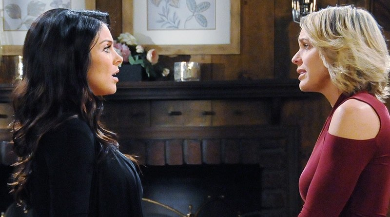 Days of Our Lives Spoilers: Chloe Lane (Nadia Bjorlin) - Nicole Walker (Arianne Zucker)