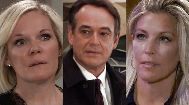 General Hospital Spoilers: Ava Jerome (Maura West) - Ryan Chamberlain (Jon Lindstrom) - Carly Corinthos (Laura Wright)