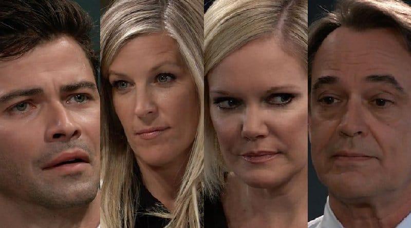 General Hospital Spoilers: Griffin Munro (Matt Cohen) - Carly Corinthos (Laura Wright) - Ava Jerome (Maura West) - Ryan Chamberlain (Jon Lindstrom)