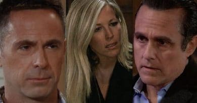 General Hospital Spoilers: Julian Jerome (William deVry) - Carly Corinthos (Laura Wright) - Sonny Corinthos (Maurice Benard)