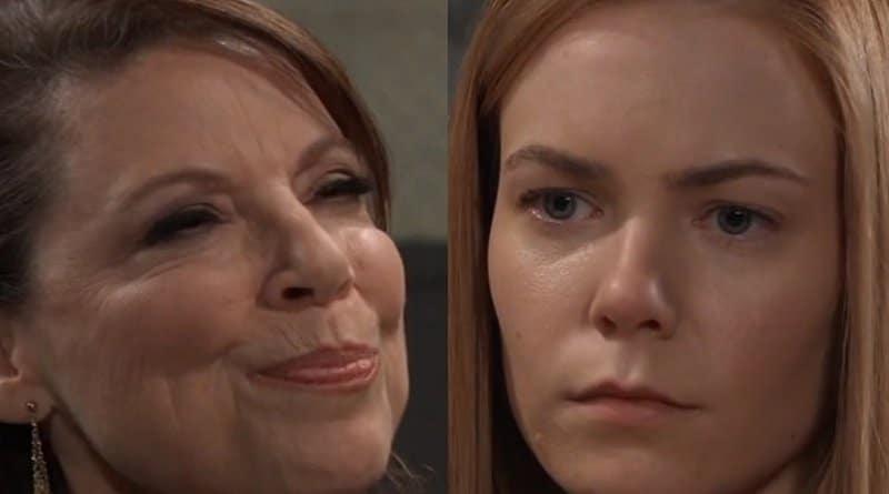 General Hospital Spoilers: Liesl Obrecht (Kathleen Gati) - Nelle Hayes (Chloe Lanier)