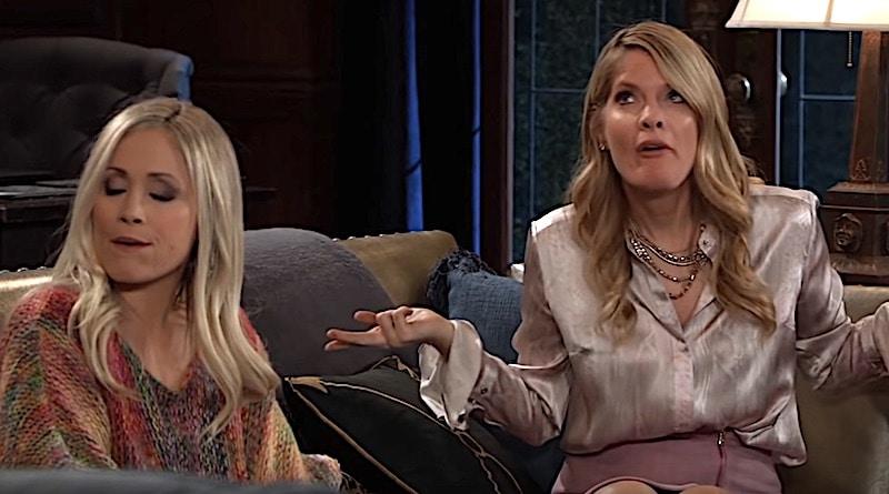 General Hospital Spoilers: Lulu Falconeri (Emme Rylan) - Nina Reeves (Michelle Stafford)