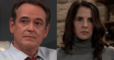 General Hospital Spoilers: Ryan Chamberlain - Kevin Collins (Jon Lindstrom) - Sam McCall (Kelly Monaco)