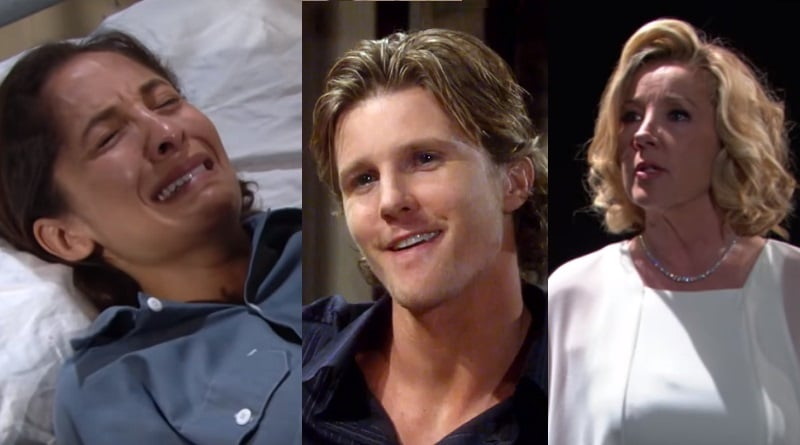 Young and the Restless Spoilers: JT Hellstrom (Thad Luckinbill) - Lily Winters (Christel Khalil) - Nikki Newman (Melody Thomas Scott)