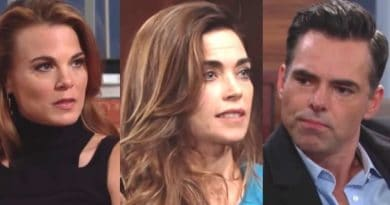 Young and the Restless Spoilers: Phyllis Abbott (Gina Tognoni) - Victoria Newman (Amelia Heinle) - Billy Abbot (Jason Thompson)