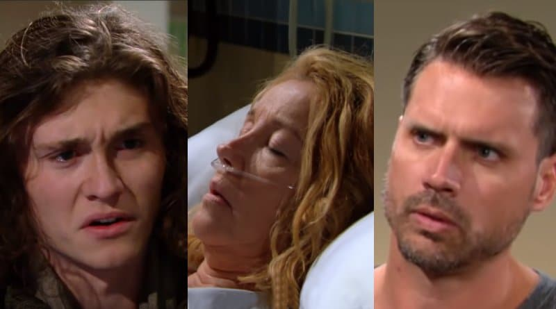 Young and the Restless Spoilers: Reed Hellstrom (Tristan Lake Leabu) - Nikki Newman (Melody Thomas Scott) - Nick Newman (Joshua Morrow)