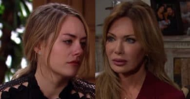 Bold and the Beautiful Spoilers: Hope Logan (Annika Noelle) - Taylor Hayes (Hunter Tylo)