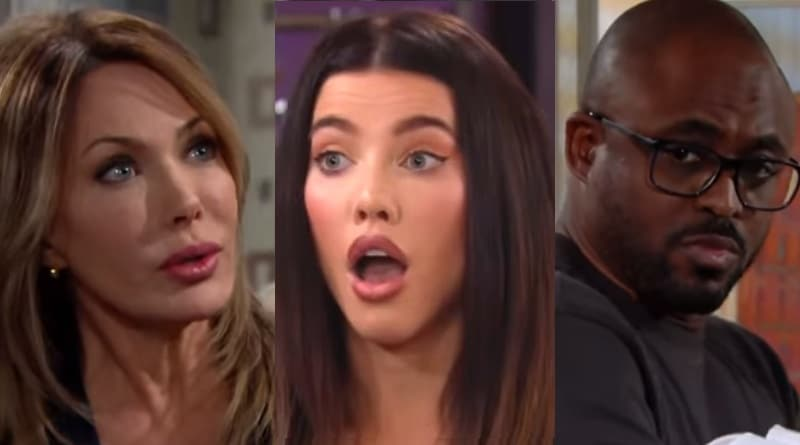 Bold and the Beautiful Spoilers: Taylor Hayes (Hunter Tylo) - Steffy Forrester (Jacqueline MacInnes Wood) - Reese Buckingham (Wayne Brady)