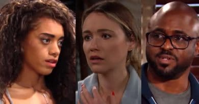 Bold and the Beautiful Spoilers: Zoe Buckingham (Kiara Banes) - Flo Fulton (Katrina Bowden) - Reese Buckingham (Wayne Brady)