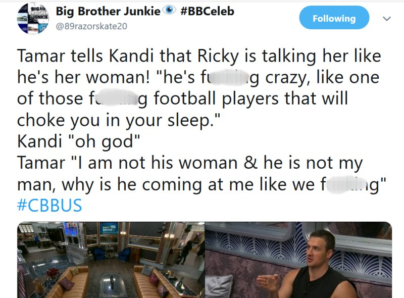 Celebrity Big Brother: Ricky Williams