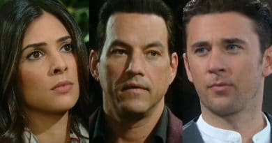 Days of Our Lives Spoilers: Gabi Hernandez (Camila Banus) - Stefan DiMera (Tyler Christopher) - Chad DiMera (Billy Flynn)