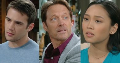 Days of Our Lives Spoilers: JJ Deveraux (Casey Moss) - Jack Deveraux (Matthew Ashford) - Haley Chen (Thia Megia)