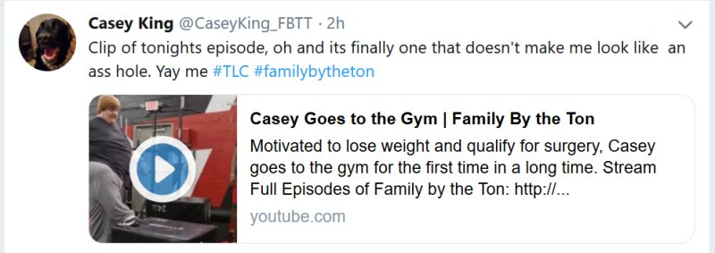 Family by the Ton: Casey King