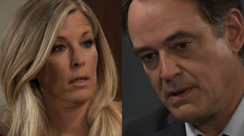 General Hospital Spoilers: Carly Corinthos (Laura Wright) - Ryan Chamberlain (Jon Lindstrom)