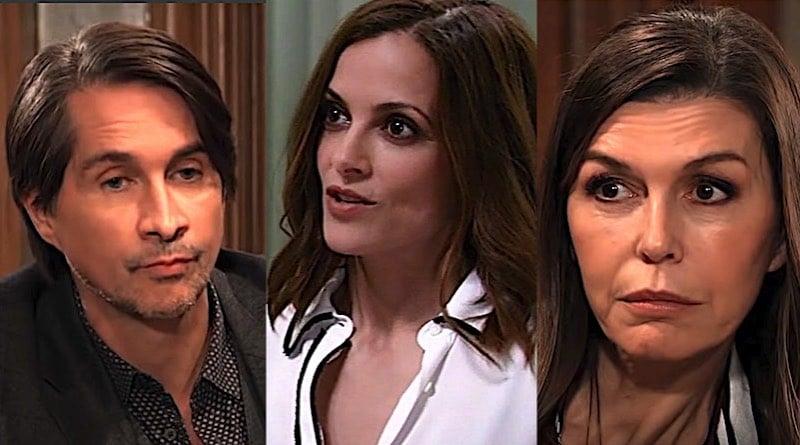 General Hospital Spoilers: Hamilton Finn (Michael Easton) - Hayden Barnes (Rebecca Budig) - Anna Devane (Finola Hughes)