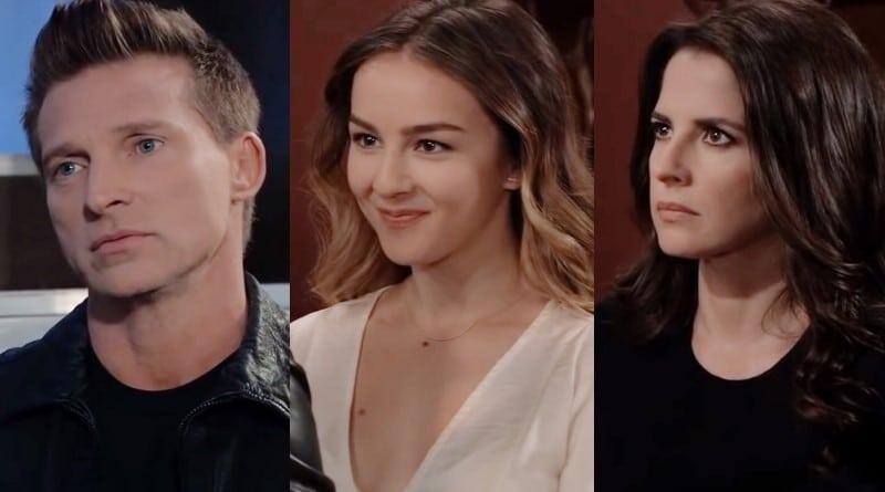 General Hospital Spoilers: Jason Morgan (Steve Burton) - Kristina Davis (Lexi Ainsworth) - Sam McCall (Kelly Monaco)