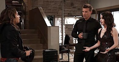 General Hospital Spoilers: Kristina Davis (Lexi Ainsworth) - Jason Morgan (Steve Burton) - Sam McCall (Kelly Monaco)