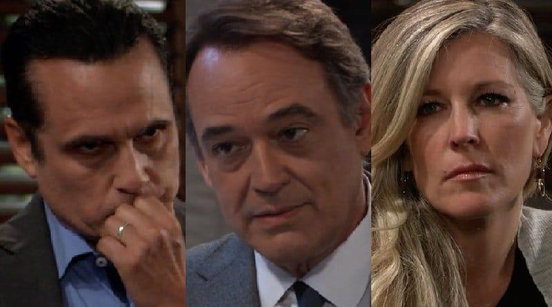 General Hospital Spoilers: Sonny Corinthos (Maurice Benard) - Ryan Chamberlain (Jon Lindstrom) - Carly Corinthos (Laura Wright)