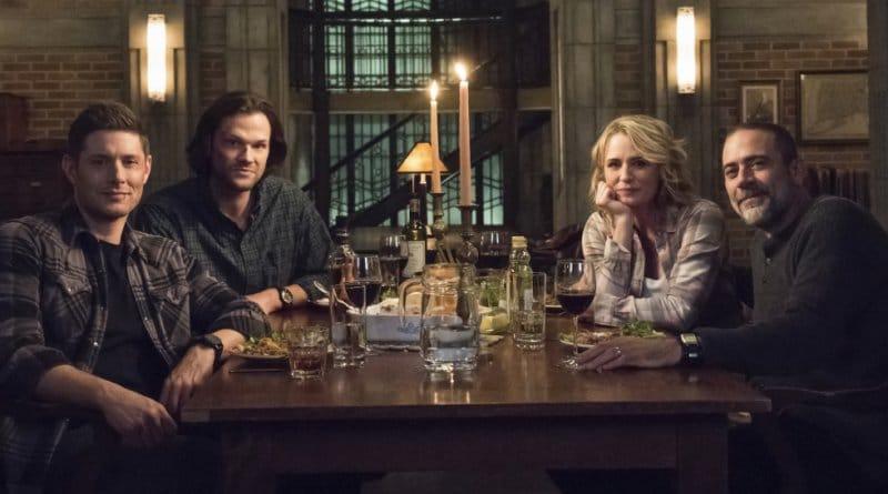 Supernatural Spoilers: Dean Winchester (Jensen Ackles) - Sam Winchester (Jared Padalecki) - Mary Winchester (Samantha Smith) - John Winchester (Jeffrey Dean Morgan)