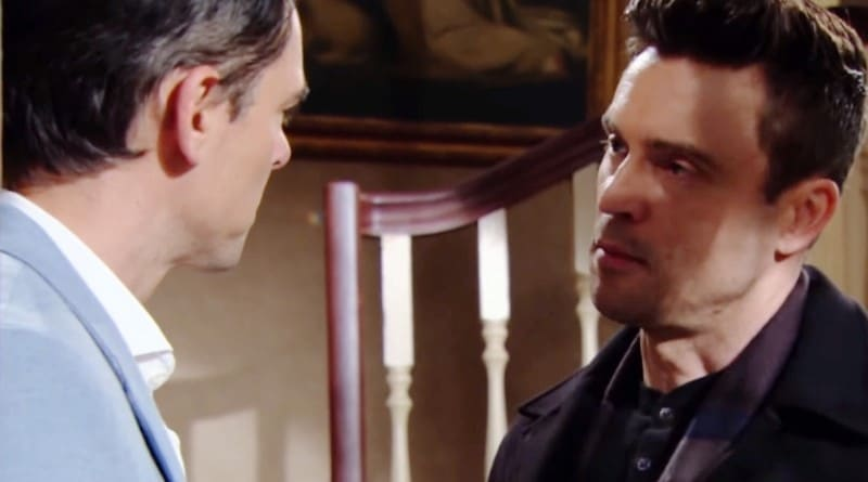 Young and the Restless Spoilers: Billy Abbott (Jason Thompson) - Cane Ashby (Daniel Goddard)
