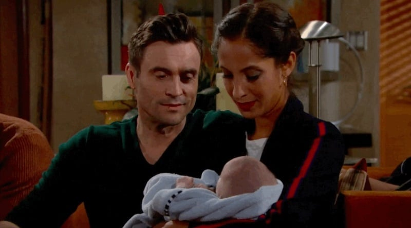 Young and the Restless Spoilers: Cane Ashby (Daniel Goddard) - Lily Winter (Christel-Khalil) - Baby Sam