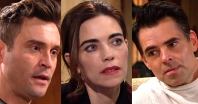 Young and the Restless Spoilers: (Cane Ashby) Daniel Goddard - Victoria Newman (Amelia Heinle) - Billy Abbott (Jason Thompson)