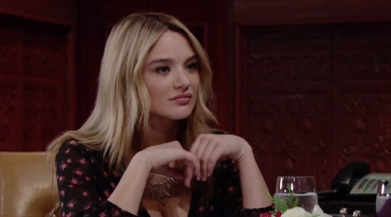 Young and the Restless Spoilers: Hunter King (Summer Newman)