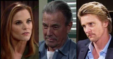Young and the Restless Spoilers: Phyllis Abbott (Gina Tognoni) - Victor Newman (Eric Braeden) - JT Hellstrom (Thad Luckinbill)