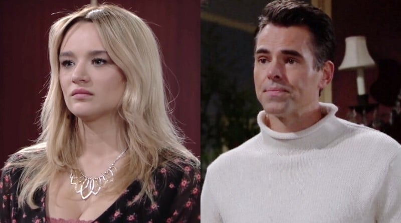 Young and the Restless Spoilers: Summer Newman (Hunter King) - Billy Abbott (Jason Thompson)