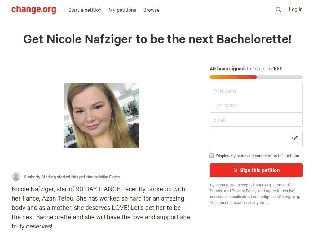 90 Day Fiance - Nicole Nafziger - The Bachelorette