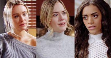 Bold and the Beautiful Spoilers: Florence Fulton (Katrina Bowden) - Hope Logan (Annika Noelle) - Zoe Buckingham (Kiara Barnes)