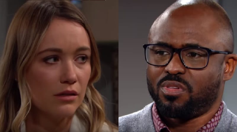 Bold and the Beautiful Spoilers: Florence Fulton (Katrina Bowden) - Reese Buckingham (Wayne Brady)